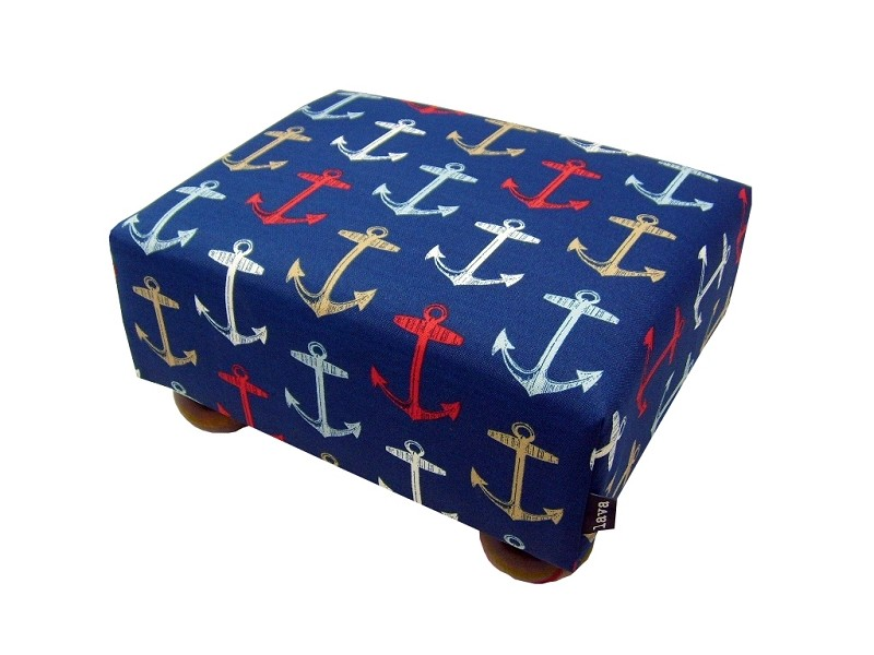 Anchors Away Footstool 12x15 56703-300