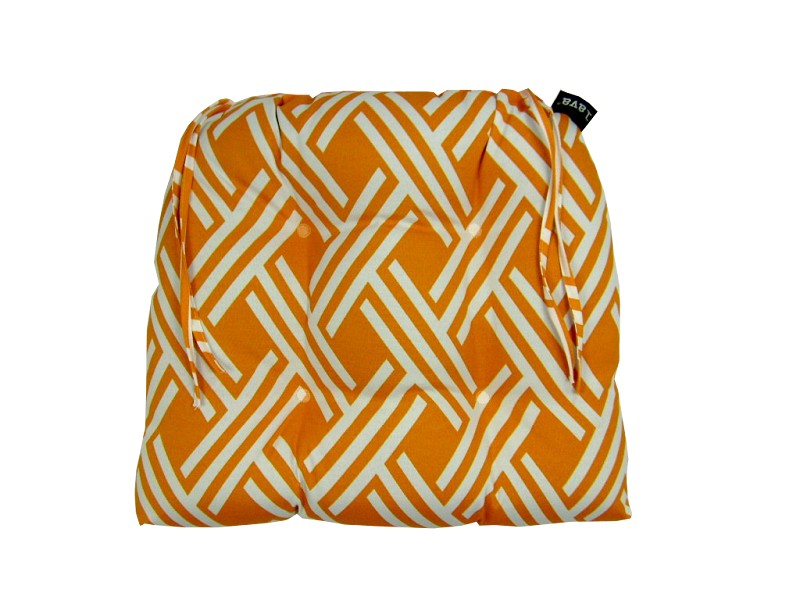 fresco orange dining cushion - 18x16 Indoor/Outdoor - 53252.815