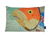 Orange Fish Mosaic 15x23 53295-821